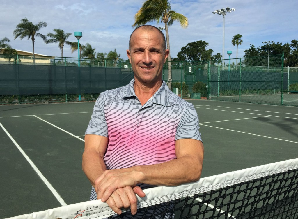 Jeff Bingo GM of Racquet Sports in Delray Beach Florida