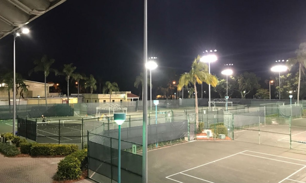 DTC Tennis Courts Lights