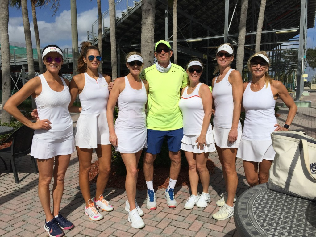 Ladies Tennis With Coach Jeff