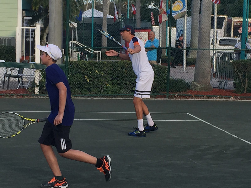 Bryan Brothers Delray Tennis