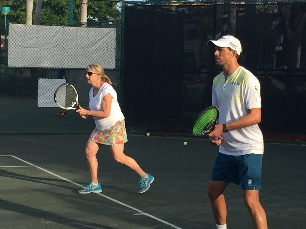 Bryan Brothers Tennis Drill