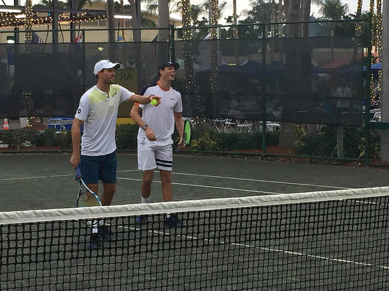 Bryan Brothers Tennis Fun