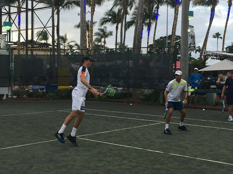 Bryan Brothers Tennis Session