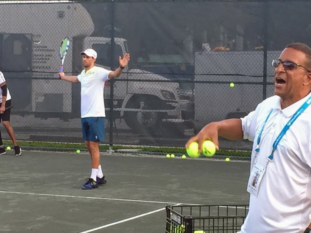 Mark Williams with Bryan Brothers