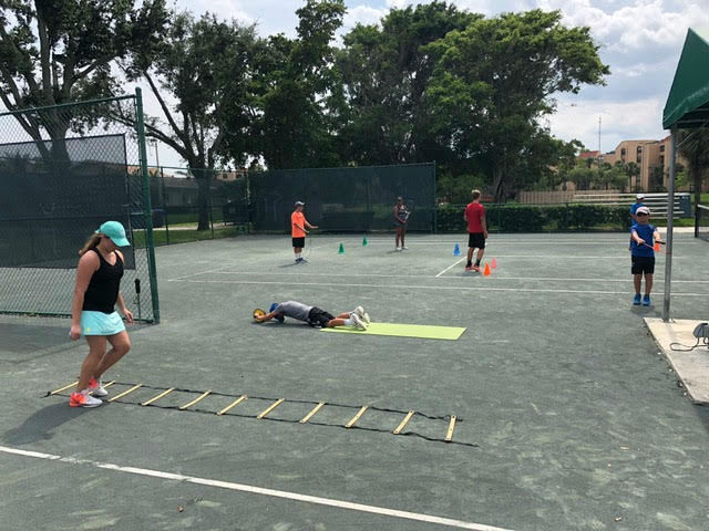 Ladder Work Tennis Fitness