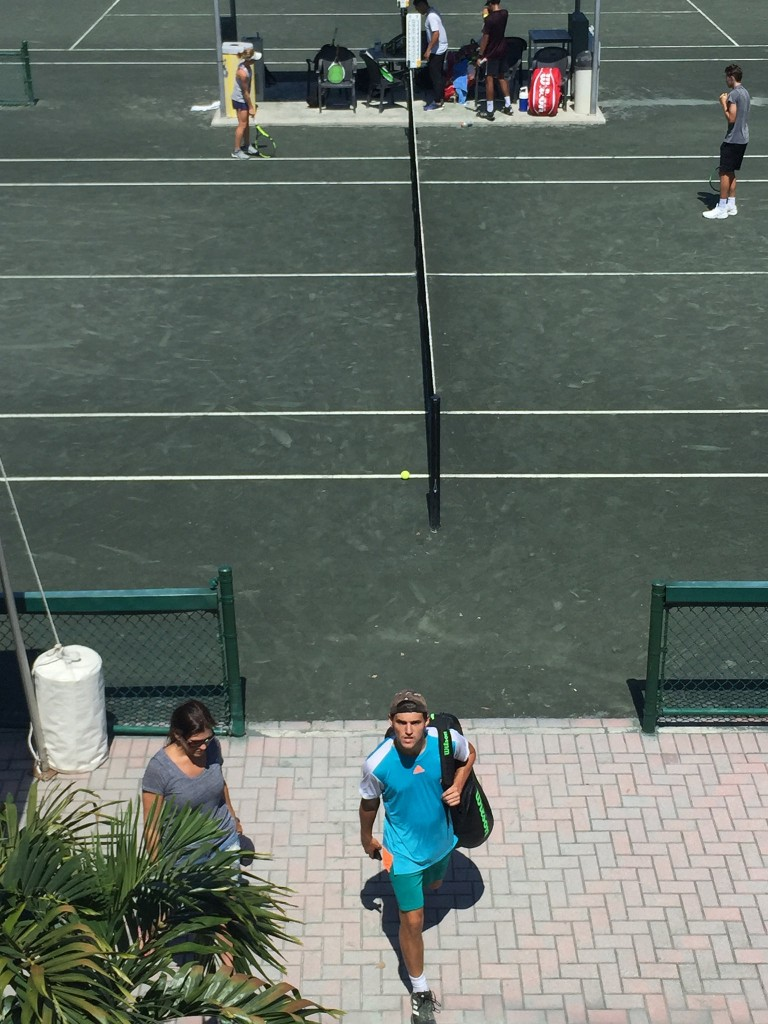 National Junior Tennis Player