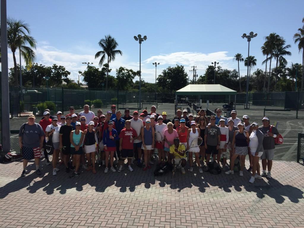 Tennis Mixer Delray Beach 2018