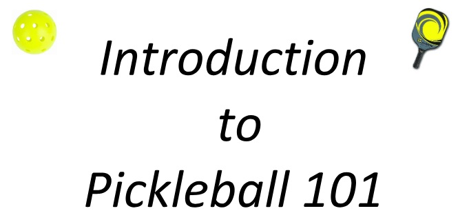 Pickleball 101