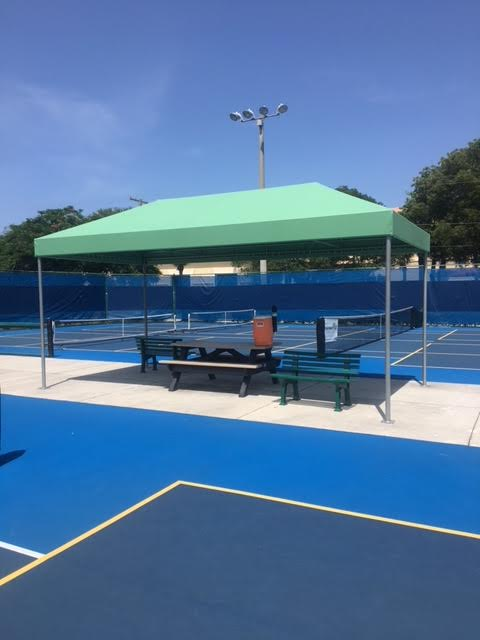 Pickleball Courts Shade Delray