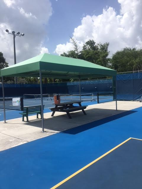 Pickleball Courts Shade