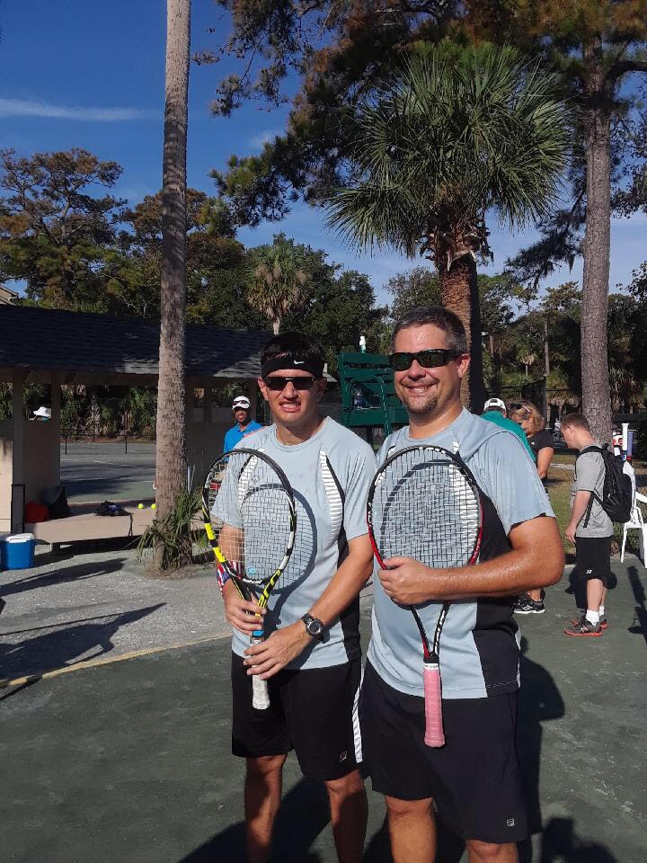 Jonathan and Brett - Tennis