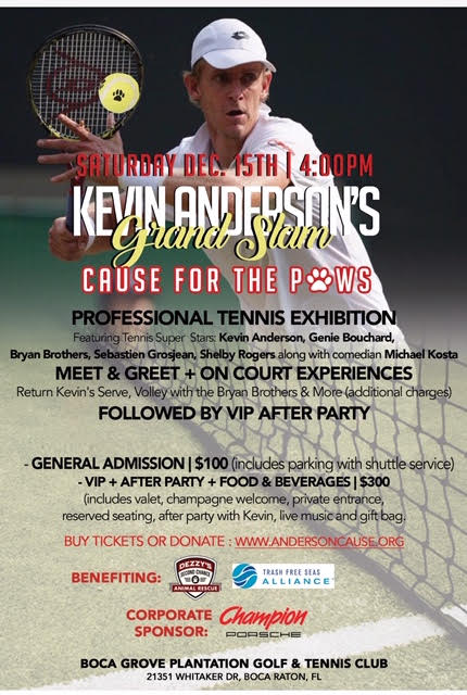 Kevin Anderson Tennis Event