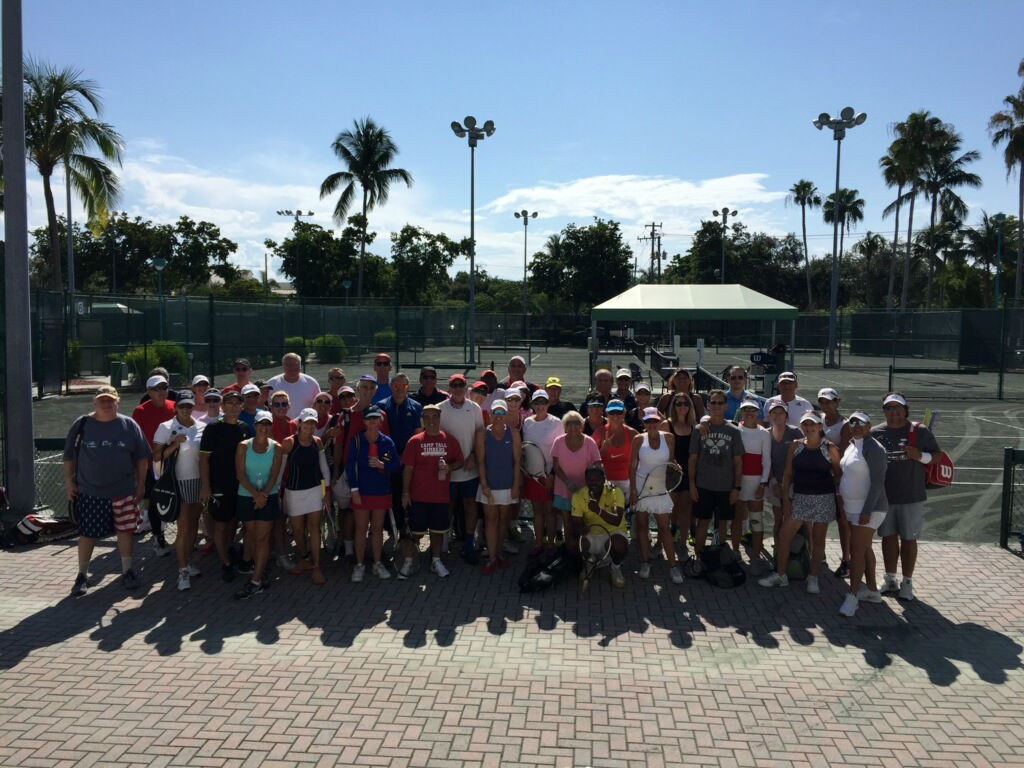 Tennis Mixer Delray Beach Center