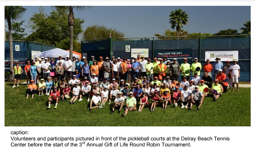 Gift of Life Delray Beach Tennis Center
