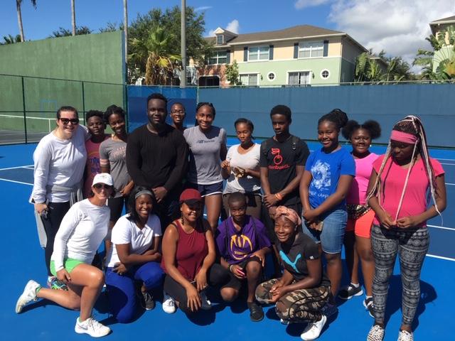 Coco Gauff at Delray Tennis