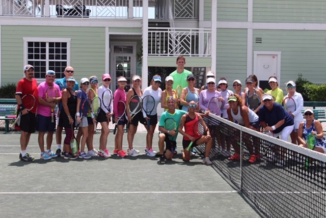 Kevin Anderson and Delray Beach Camp