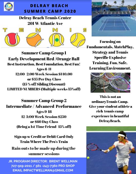 Flyer 2020 Summer Camp