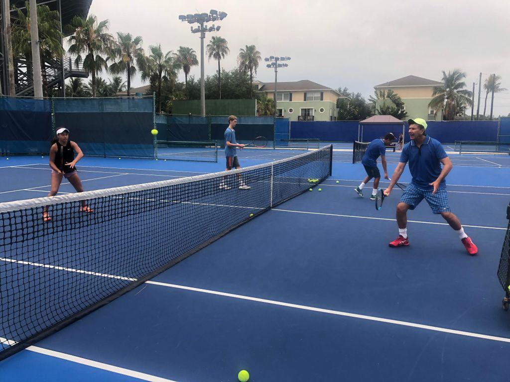 Summer Tennis Workout