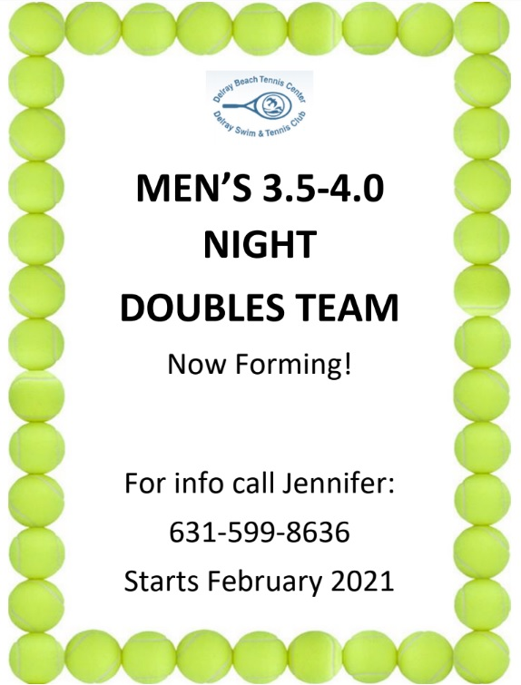Mens Tennis Doubles Team