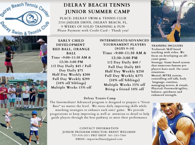 Summer Tennis 2021